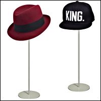 hat stands counter 200