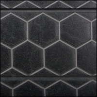 honeycomb textured slatwall 200