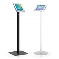 ipad tablet floor stand for retail 200