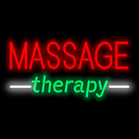 massage neon sign 200
