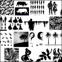 misc silhouettes 200