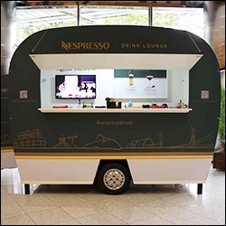 mobile trailers used for retail or coffee shops
