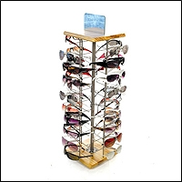 optical optometry retail store counter display stand