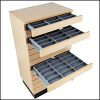 optical optometry retail store display storage cabinet