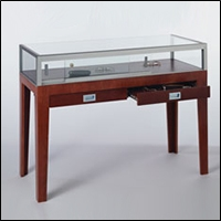 optical optometry retail store display tables