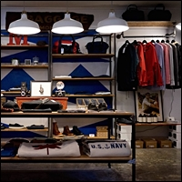 pipe racks image gallery for retail spaces
