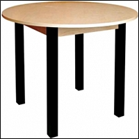 premium real wood round tables 200
