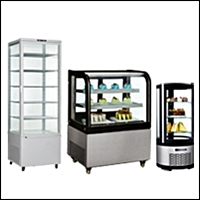 restaurant display cases 200