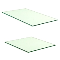 retail binning glass sq and rec 200