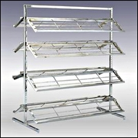 retail shoe rack display fixtures 200