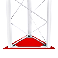 retail triangle truss base 200