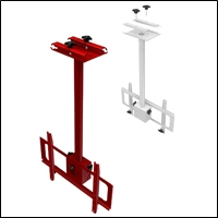 retail truss video monitor holders