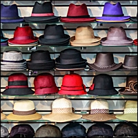 retail wall display for hats 200