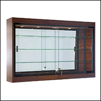 retail wall mounted showcases for display 200