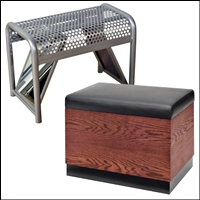 shoe benches and seating