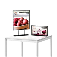 sign frames retail display 200