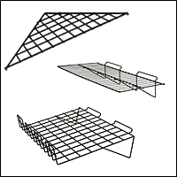 slatwall steel wire shelves 200