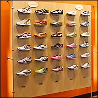 solo slat wall display retail 200
