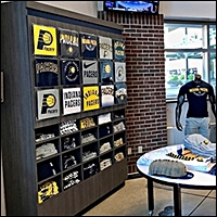 sporting goods t shirt displays 200 5