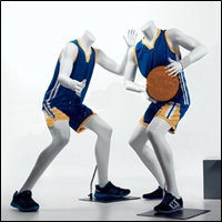 sports kids mannequins