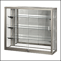 standard wall hung showcase displays 200