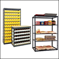 steel retail warehouse shelving 200