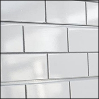 subway tile slatwall