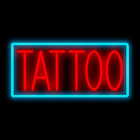 tattoo neon sign 200