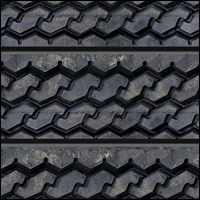 tire and road texture slatwalls