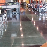 concrete floor 200