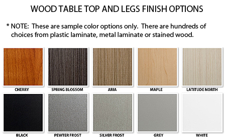 custom retail tables finish options 01