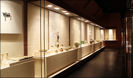 euro style trophy display showcase for retail or museum Header