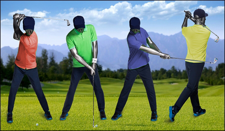 golfer mannequins male and female header
