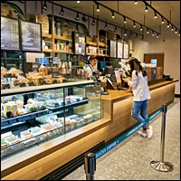Coffee Shop Gallery of Stores 200