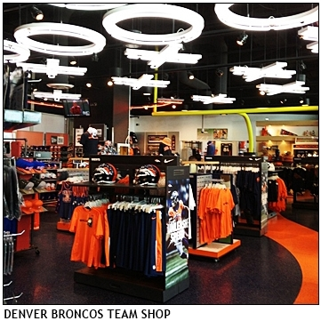 Denver Broncos Team Shop Design Main