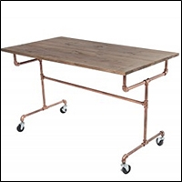 industrial tables for retail display 200