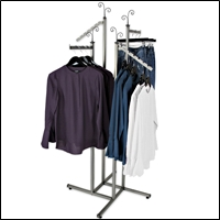 raw steel clothing racks 200