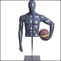 retail sporting goods mannequin form display 200 5