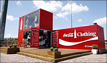 shipping container store pop up header