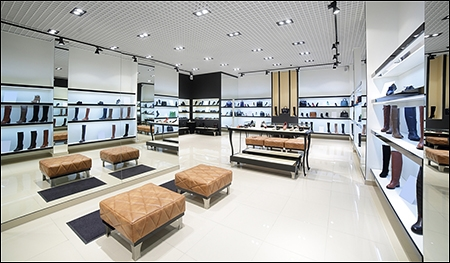shoe store seating options header